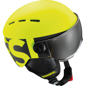 Rossignol Visor Helmet Junior Neon Yellow/Black